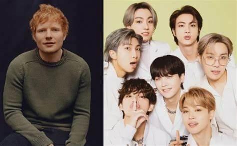 Ed Sheeran Writes New Song 4 BTS After 2020 'Make It Right'